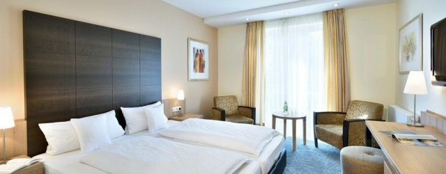 The spacious superior rooms are bright and modern with a floor area of up to 25 m².